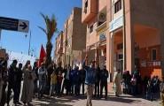 تنغير : ساكنة واكليم تحتج ضد وزارة النقل بسبب تغيير مسار طريق