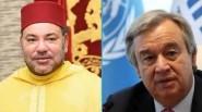 """الملك يهاتف الأمين العام لمنظمة الأمم المتحدة بسبب استفزازات """" البوليساريو"""