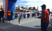 حمزة الساحلي و الباجوي حنان يفوزان بسباق 30 كلم للنسخة العاشرة لألترا ماراطون الدولي ورزازات