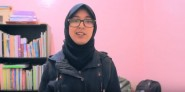 """ورزازات: التلميذة مريم بّا تشارك في مسابقة """" RACE TO SPACE """""""