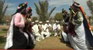 فرقة تزويت قلعة امكونة .. في رقصة النحلة بمنتزه ثالث مارس بالرشيدية