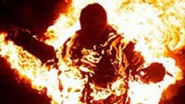 أضرمت النار في نفسها بسبب حكم قضائي