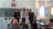 المدير الإقليمي بمديرية تنغير يقوم بزيارة لمدرسة تدريت بجماعة أمسمرير