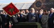 الملك محمد السادس يعطي انطلاقة أشغال إنجاز محطة نور ورزازات 4، المرحلة الأخيرة من أكبر مركب للطاقة الشمسية في العالم