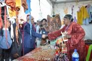 إنطلاق فعاليات الدورة السابعة للملتقى الدولي للصناعة التقليدية بورزازات