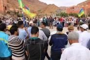 """صرخة أسامر ضد التهميش و الحكرة: هذا ما قاله الناشط الأمازيغي """"موحى رحماوي"""" بمسقط رأس الشهيدة """"ايديا"""" بتيزكي"""