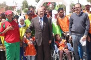 إعلان المشاركة في السباق على الطريق المنظم على هامش فعاليات الدورة 55 من مهرجان الورود