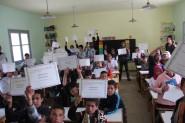 جمعية تاوادا تضع بصمتها الاجتماعية و التربوية بمدرسة إمي نولاون