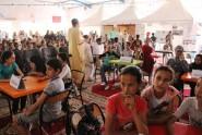 شاهد … جمعية رواق المعرفة تنظم مسابقة ثقافية للأطفال على هامش معرض الكتاب بأرفود