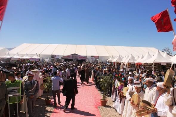 قلعة امكونة تستعد لاحتضان الدورة 57 للملتقى الدولي للورد العطري + فيديو