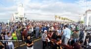 الحسيمة تخرج في أكبر مسيرة منذ اعتقال قادة الحراك ووالدة الزفزافي:أنا فخورة بابني لقد تصرف كرجل