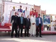 مهرجان الورود: عبد الرحمان كاشير وكلثوم بوعسرية يتوجان بسباق قلعة مكونة على الطريق