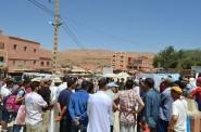 """تنغير : ساكنة بومالن دادس تحتج ضد """"خروقات"""" في لوائح تجزئة سكنية"""