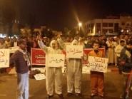 """مسيرة تجوب شوارع أكادير في ساعات متأخرة من الليل تحمل شعار """"لسنا انفصاليين"""""""