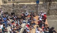 الفلسطينيون يصلون بالأقصى ومحيطه ومواجهات ببيت لحم