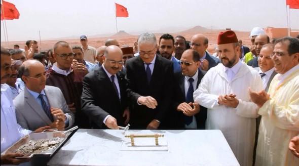 وزير الصحة يعطي انطلاقة أشغال بناء المركز الاستشفائي الإقليمي بتنغير
