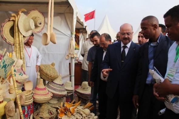 على هامش مهرجان تملسا.. معرض لمنتوجات الصناعة التقليدية