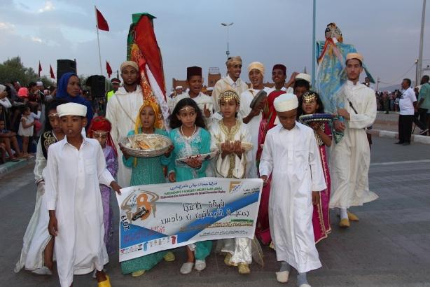 """تنغير :  مهرجان """"تملسا"""" ببومالن دادس يبرز براعة المرأة في الزي التقليدي"""