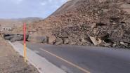 انهيار صخري يقطع حركة السير بالطريق الرابط بين ورزازات ومراكش لساعات