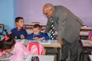 مدير الأكاديمية الجهوية للتربية والتكوين بجهة درعة تافيلالت في زيارة ميدانية للمؤسسات التعليمية بدوائر إقليم ميدلت