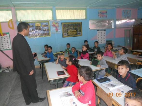تنغير: المدير الإقليمي يواصل زيارة المؤسسات التعليمية لتتبع الدخول المدرسي