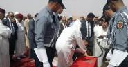 تشييع جثمان الموظف الذي وافته المنية جراء اعتداء من طرف سجين خطير بسجن تولال 2