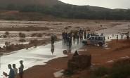 أمطار طوفانية تضرب تنغير و زاكورة وتتسبب في خسائر فادحة + صور و فيديوهات