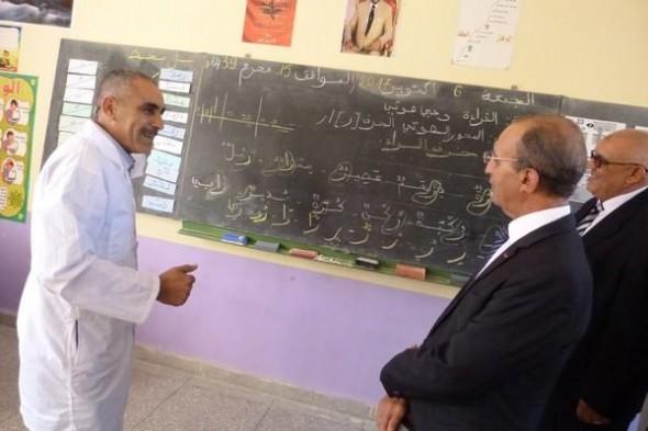 محمد حصاد يتفقد مؤسستين تعليميتين بالرشيدية