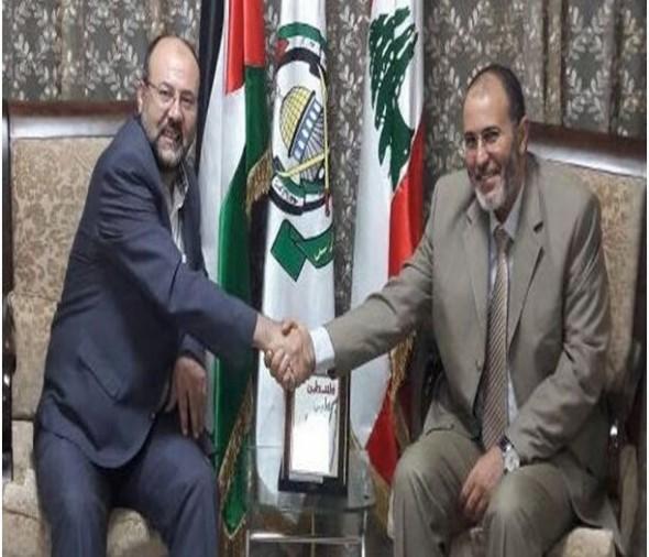 العدل و الإحسان في ضيافة ممثل حركة حماس بلبنان