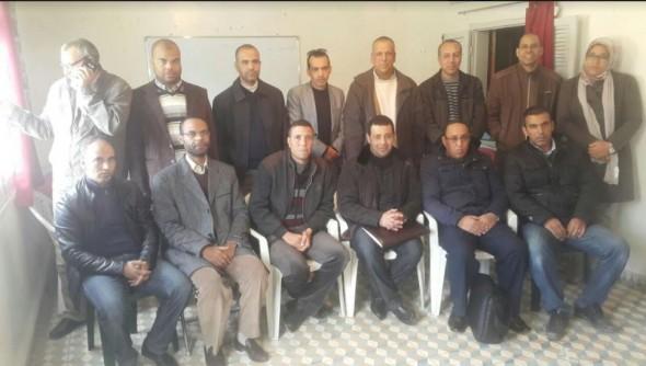 الجمع العام الإقليمي لنقابة مفتشي التعليم بتنغير 