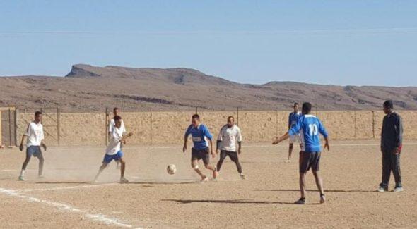 زاكورة: افتتاح النسخة 20 لبطولة تازارين في كرة القدم