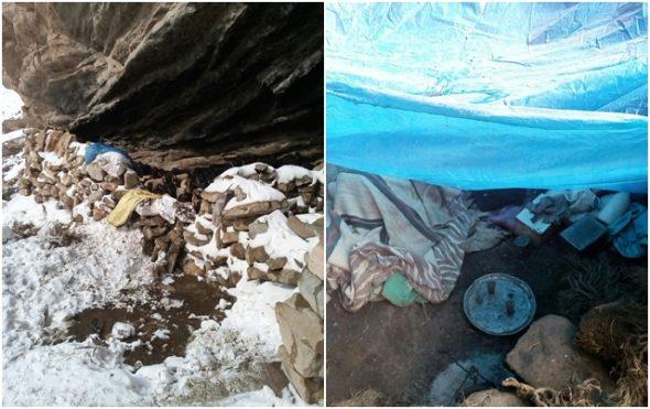 مواطنون يتمكنون من الوصول إلى رحل حاصرتهم الثلوج بجبال أمسمرير
