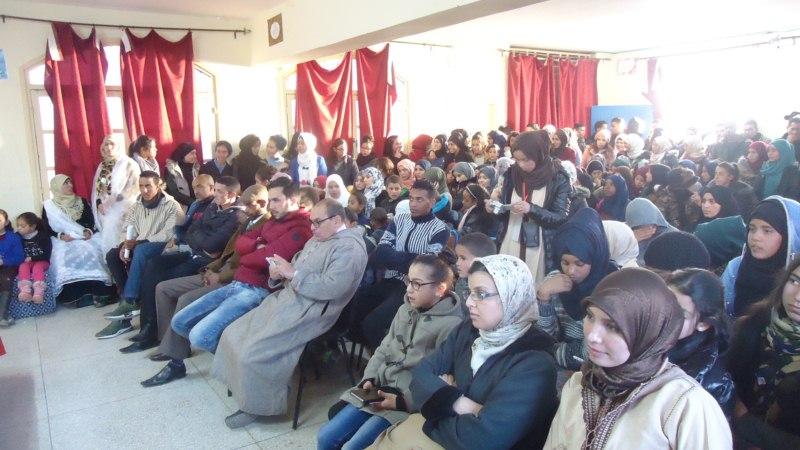 مكونات ثانوية سيدي محمد بن عبد الله التأهيلية تحتفل بالسنة الأمازيغية الجديدة 2968