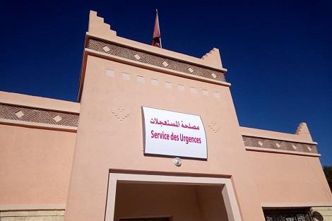 الاكتظاظ يعم مستشفى سيدي حساين في ورزازت