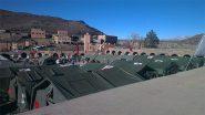أمسمرير تستقبل مستشفى عسكري لمواجهة موجد البرد