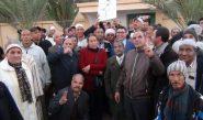 مناضلو الاتحاد الاشتراكي بدرعة تافيلالت يطالبون الملك بالتدخل والتعجيل بعزل وإعفاء الشوباني + فيديو