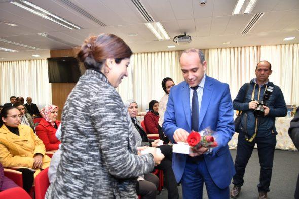 رئاسة النياية العامة تحتفي بموظفاتها في عيدهن