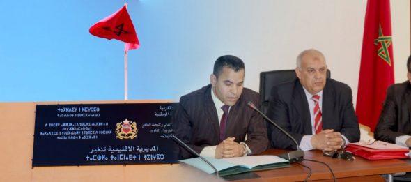 حفل تنصيب المدير الاقليمي الجديد لوزارة التربية الوطنية والتكوين المهني بتنغير