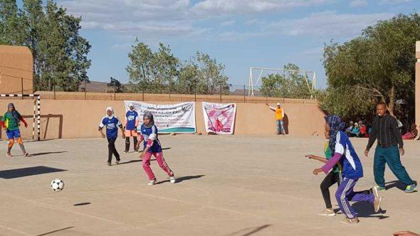 تازارين: افتتاح الدوري النسوي في كرة القدم المصغرة بشراكة مع السفارة الفرنسية