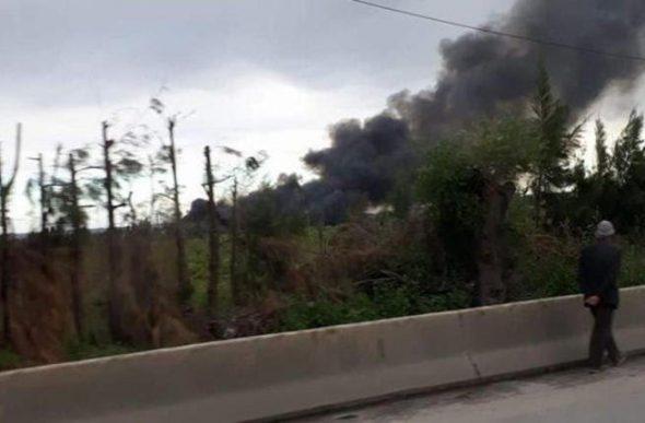 200 قتيل بتحطم طائرة عسكرية في الجزائر (فيديو)