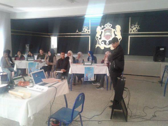جمعية الواحة ببوذنيب تنظم ورشة تكوينية في موضوع :اساسيات في مهنة الصحافة