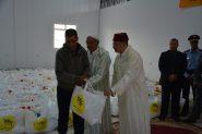 """7140 أسرة بإقليم تنغير تستفيد من عملية الدعم الغذائي """"رمضان 1439"""""""