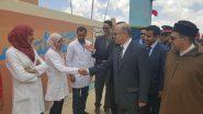 بومالن دادس …زيارة وفد رسمي برئاسة السيد عامل إقليم تنغير لثانوية الموحدين الإعدادية