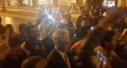 عمال سنطرال يحتجون امام البرلمان والداودي يردد معهم الشعارات
