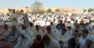 شاهد اجواء صلاة عيد الفطر 1439 بمصلى حي المسيرة بالرشيدية