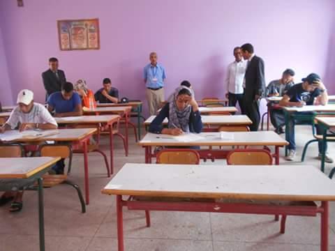 مديرية تنغير : المدير الإقليمي في زيارة لمركز اجراء الدورة الاستدراكية لامتحانات البكالوريا بثانوية زايد أحماد