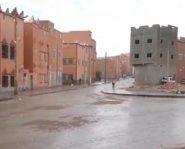 فيديو // تساقطات مطرية هامة بمدينة تنغير