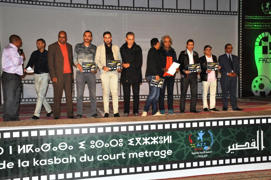 """تتويج فيلم """"الهوان"""" لمخرجه محمد القاول بالجائزة الكبرى لمهرجان القصبة الخامس للفيلم القصير بورزازات"""