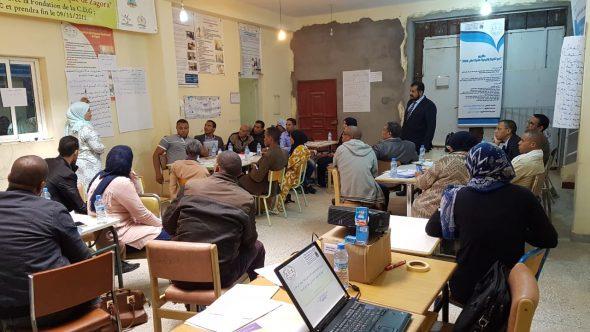 تكوين لتتبع تنفيذ الخطة الوطنية في مجال الديمقراطية و حقوق الإنسان في البرامج الترابية بزاكورة