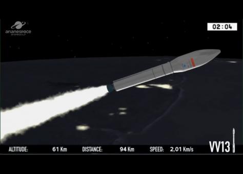 """إطلاق القمر الصناعي """"محمد السادس -ب-"""" بنجاح نحو الفضاء"""